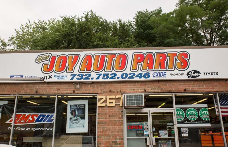 NJ Auto Parts Stores